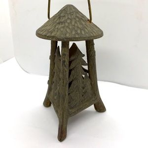 Cast Iron Outdoor Patio Candle Holder